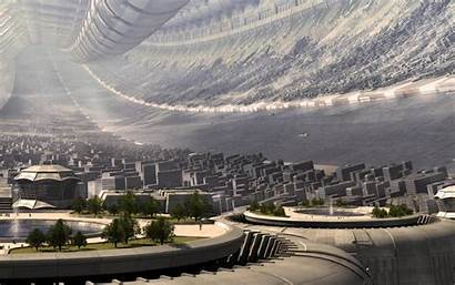 Future Cityscape Wallpapers Wallpapersafari