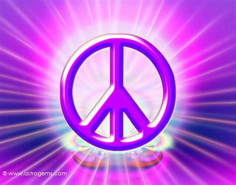 3d Peace Sign Wallpaper