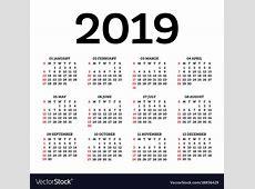Calendar January 2019 Dates Tv Free Printable Blank Calendar