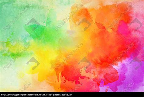 Türkis Farbe Bilder by Aquarell Farben Textur Verlauf Bunt Stockfoto