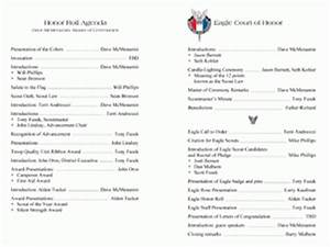 eagle scout celebration program just an example eagle With eagle scout program template