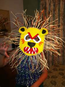 African Animals Mask Crafts for Kids