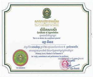 Certificates Of Appreciation Templates For Word Certificate Khmer Certificates Templates Free