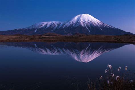 потухшие вулканы россии на карте