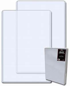 pack of 10 bcw 11 x 17 hard plastic topload holders 11x17 With document protectors hard plastic