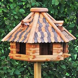 Ständer Für Vogelhaus : vogelhaus herbstlaub standfu gro ~ Whattoseeinmadrid.com Haus und Dekorationen
