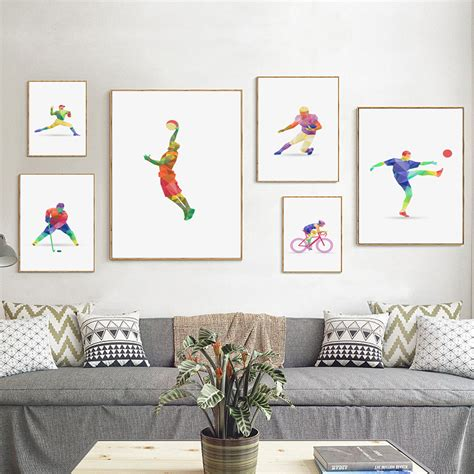 deco basketball chambre popular abstract sports buy cheap abstract sports