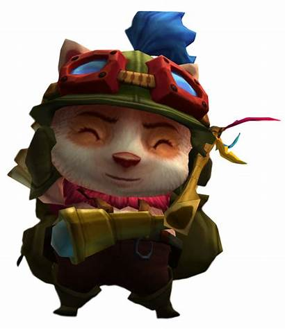 League Legends Clipart Teemo Poison Away Passed