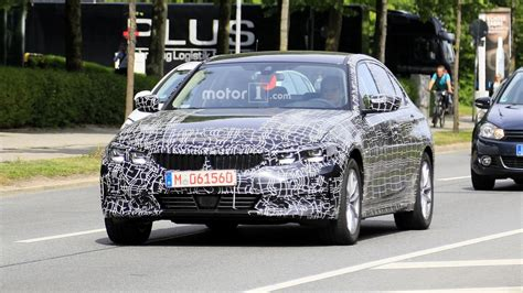 Bmw 3 Series Sedan 2019 by 2019 Bmw 3 Series Spotted With Less Camo Than Before
