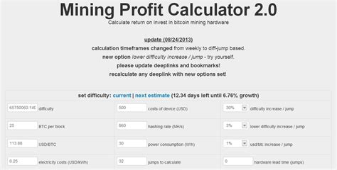 btc profit calculator 16 awesome and useful bitcoin calculators