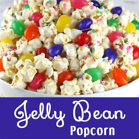 jelly bean popcorn  sisters crafting