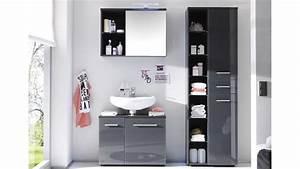 Bad Hochschrank Mit Wäschekorb : hochschrank grey badezimmer bad schrank grau gl nzend ~ Bigdaddyawards.com Haus und Dekorationen