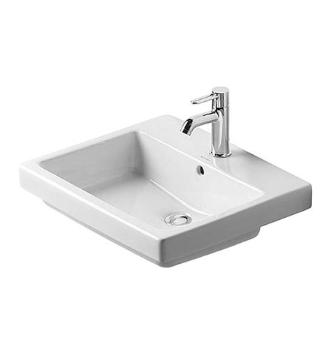 duravit vero sink 3 duravit vero white 550 x 465mm 1 tap counter top