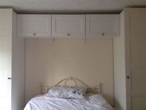Overbed Cupboard by Ikea White Pax Bed Wardrobe And Cupboard Storage