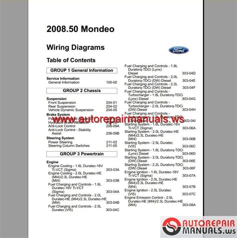 Ford Mondeo Wiring Diagram Pdf by Keygen Autorepairmanuals Ws Ford Mondeo 2008 2009 Eu