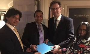 GSLF meets British Defence Minister, hands over report ...