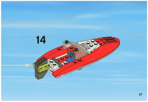 Lego Batman Boat Instructions by Lego Speedboat Instructions 4641 City