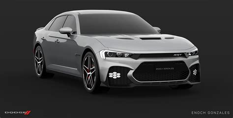 Here's A Take On The Facelifted 2019 Dodge Charger Srt