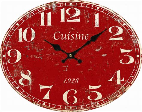 pendule cuisine great horloge pour cuisine photos gt gt photo collection