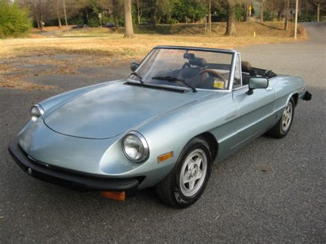 1982 Alfa Romeo Spider Photos, Informations, Articles