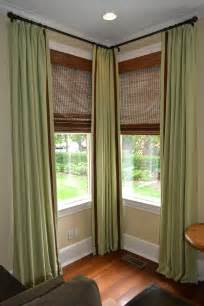 Curtains for Corner Windows Treatments