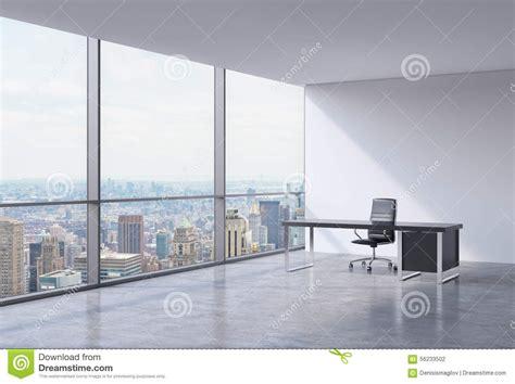 un lieu de travail dans un bureau panoramique faisant le coin moderne 224 new york manhattan une