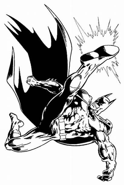 Coloring Batman Pages Knight Dark Symbol Cliparts