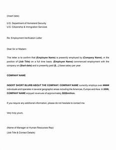 free printable letter of employment verification form With voe template