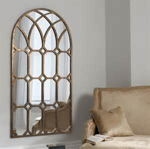 home interior candle holders arabella bronze arched mirror