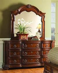 nice traditional bedroom dresser Prenzo Traditional Design Poster Bedroom Furniture Set|Free Shipping|ShopFactoryDirect.com