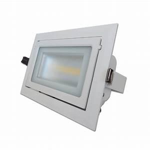 Spot Led Encastrable Plafond Faible Hauteur : projecteur vitrine 28w ~ Melissatoandfro.com Idées de Décoration