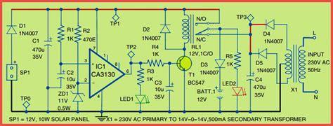 Hybrid Solar Charger Circuit