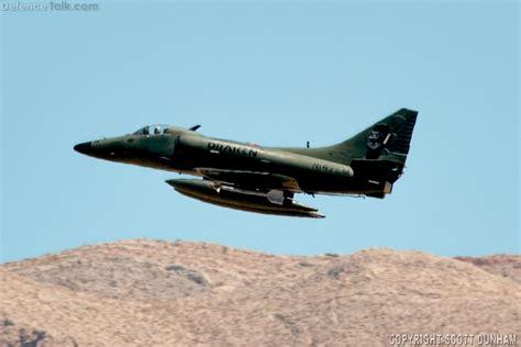 A 4k Skyhawk Aggressor Fighterattack Aircraft Defence