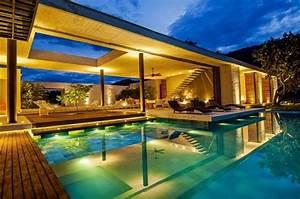 Eclairage Exterieur Piscine : piscine ext rieur 55 exemples pour votre am nagement ~ Premium-room.com Idées de Décoration