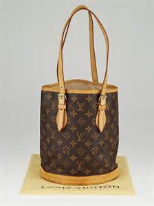 louis vuitton monogram canvas petite bucket bag wo