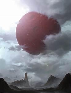 Red Moon by Yongsub Noh ∞ Infinispace