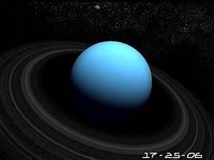 Screensavers - source :: Planet Uranus 3D Screensaver