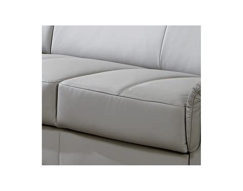canapé rangement canapé 2 places karven avec coffre de rangement cuir