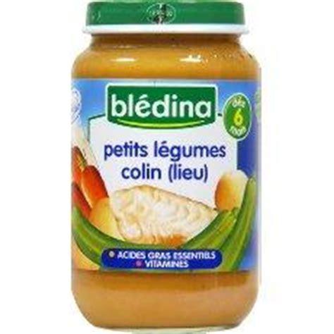 petit pot pour bebe petits legumes et colin bledina des 6 mois 200g tous les produits