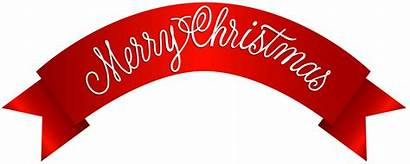 Merry Banner Clip Clipart Transparent Calligraphy Yopriceville