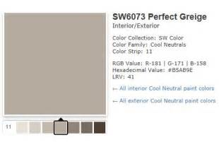 Sherwin-Williams Perfect Greige
