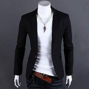 2017 spring autumn fashion casual men blazer top brand ...