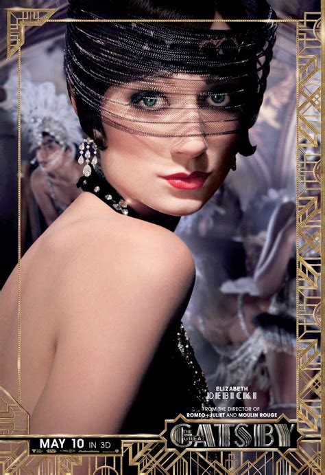 Baz Luhrmann's 'the Great Gatsby' Gets Six Flashy New Character Posters