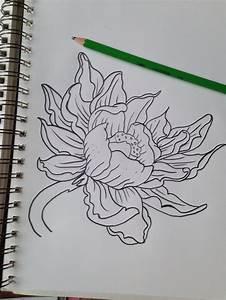 Dessin Fleurs De Lotus : dessin de fleur de lotus tattoos ~ Dode.kayakingforconservation.com Idées de Décoration