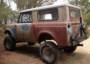 1966 International Harvester Scout 800 Project Vehicle For