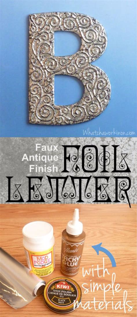 diy architectural letters   walls diy projects