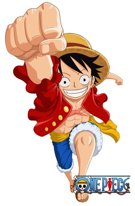 gambar jadinya karakter monkey luffy digambar mangaka