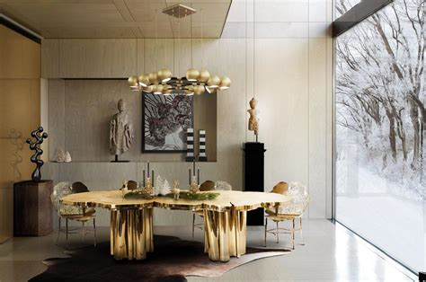 gold room ideas the best black and gold decorating ideas for your dining room 4877