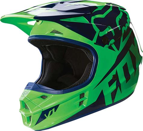 motocross helmets 2016 fox racing v1 race youth helmet motocross dirtbike