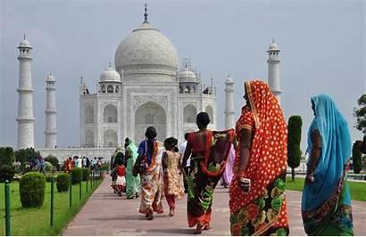 Mahal Taj India Guidate Monumento Indiano Visite